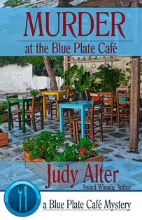 Murder Blue Plate
