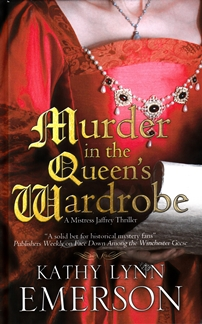 Murder in the Queens Wardrobe
