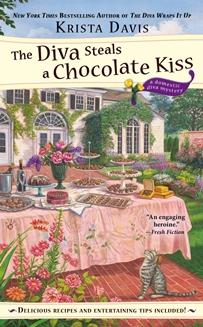 Diva Steals a Chocolate Kiss