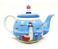 lighthouse teapot