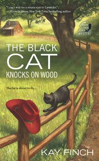 Black Cat Knocks on Wood