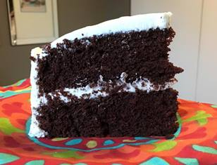 Chocolate Marsh Cake